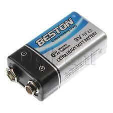3pcs @$2.40 Battery New Beston 9-Volt Battery Extra Heavy Duty 9V