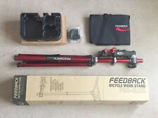 Feedback Sports Pro Elite Bicycle Bike Portable Workstand +Tool Tray & Carry Bag