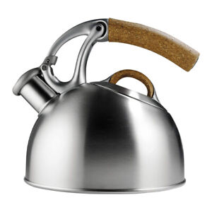 OXO Brew Uplift Anniversary Edition Steel Tea Kettle Pot with Angled Handle