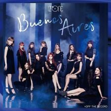 LIKE New IZ ONE IZONE Buenos Aires First Limited Edition Type B CD DVD Japan