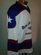 Bank Of America Home Loans #17 Pewinski Red White Blue L Hockey Shirt Jersey