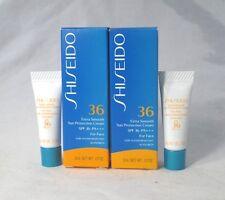 Lot/2 Shiseido Extra Smooth Sun Protection Cream SPF 36 PA+++ ~ .07 oz. Each ~