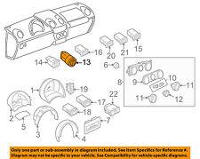 VW VOLKSWAGEN OEM 98-10 Beetle-Headlight Headlamp Switch 1C0941531B20H