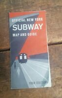 1958 Official New York Subway Map And Guide