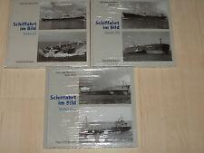 Sammlung Schiffahrt im Bild Tanker Band 1, 2 und 3 Hardcover!