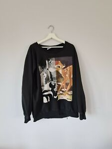 Official disney bambi graphic print pullover sweatshirt XL/20