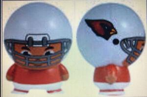 ARIZONA CARDINALS NFL Mini Small Football Boy Buildable Cake Topper Birthday!