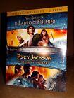 PERCY JACKSON Il Ladro dei Fulmini + Il Mare dei Mostri Box 2 BLU-RAY SIGILLATO