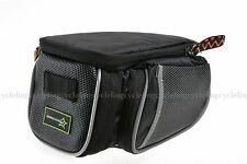 New ROCKBROS Road Bike Saddle Bag MTB Seat Post Bag Fixed Gear Fixie Black
