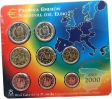 manueduc   BLISTER OFICIAL FNMT EUROSET ESPAÑA 2000 NUEVO