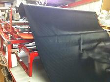Blackout lining material: Flame retardant black fabric