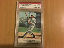 Honus Wagner Pittsburgh Pirates 1961 Golden Press Hall of Fame #32  PSA 8