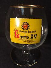 """""""BRANDY ESPANOL"""" LUIS XV DISTILERIAS La PAJARITA Brandy Glass Very Rare"""