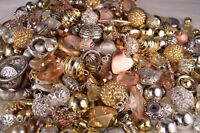 Fancy Bead Mix Metallic look, Resin, Metal, Glass Beads BM302