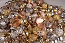 Fancy Bead Mix Metallic look, Resin, Metal, Glass Beads BM302
