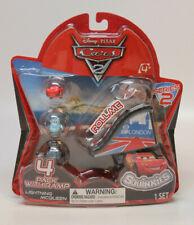 Disney Cars Cars 2 Series 2 Squinkies 4-Pack Mini Figures with Ramp
