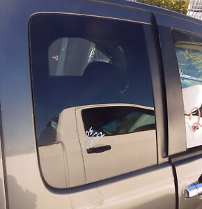 2004-2015 Nissan Titan Passenger Rear Door Glass KING CAB OEM W/90 Day Warranty
