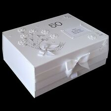 50th Personalised Birthday Gift Large Keepsake Memory Box Happy Mum Best Friend
