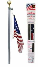 Ezpole Flagpoles Classic Flagpole Kit, 21-Feet