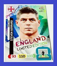 Adrenalyn XL UEFA EURO 2012 Panini STEVEN GERRARD Limited Edition