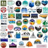 50Pcs/Lot Funny Skateboard Stickers Vinyl Laptop Luggage Decals Sticker
