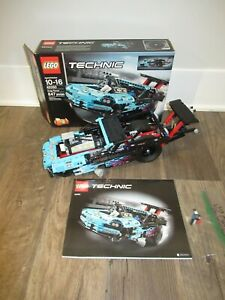 LEGO 42050 Drag Racer 100% Complete w Box and Instructions drag car race car