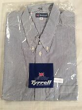 FORMULA 1 - TYRRELL GRAND PRIX RACING TEAM button down Travel Shirt (size 41)