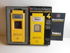 MB microvision Jeu Pinball dans neuf dans sa boîte avec mode d'emploi