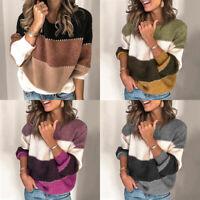 Autumn Winter Women Casual Knitwear Sweater Jersey Long Sleeve Knitted Pullovers