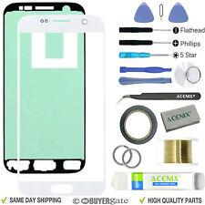 Samsung Galaxy S7 Blanco Pantalla de Recambio Delantero Lente de cristal
