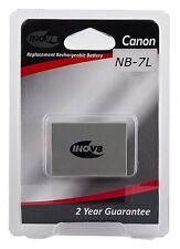 INOV 8 NB-7L Canon CA6L batería de la Cámara