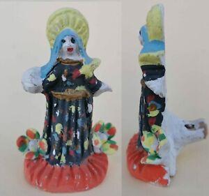 Whistle Vintage 1960 Fischietto Tradizionale Siciliano in terracotta