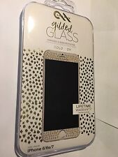 IPHONE 6, 6S, 7 CASEMATE GILDED GLASS SCREEN PROTECTOR GUARD CHAMPAGNE CM034976