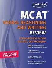 Kaplan MCAT Verbal Reasoning and Writing Review-ExLibrary