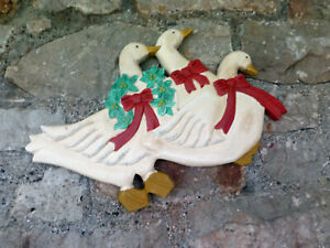 """""""GISELA GRAHAM"""" WALL PLAQUE - DUCK LOVERS"""