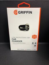 Genuine Griffin PowerJolt Dual Universal Car Charger for Two USB Device