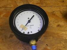 Hydraulik-Feinmess-Manometer Klasse 0- 160 psi  durchmesser 13cm Aufschraubbar
