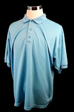 Columbia PFG Baby Blue Fishing Vented T Shirt Athletic Performance Gear Sz XL