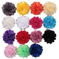 DIY 3/10/50 PCS Lots Corsage Ribbon Bow Appliques/craft/Wedding decoration