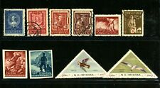 Croatia outstanding selection of 20 stamps - MH/Used - CV=$11.95