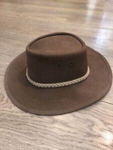 Inkosi Cowboy Leather Hat size S