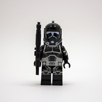 Lego Star Wars Custom Shadow ARC Trooper with Commando Pack & Desert Long Rifle