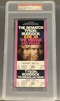 "Mike Tyson vs Razor Ruddock ""The Rematch"" FULL Ticket (PSA)"