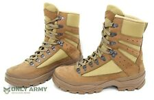 NEW Issue French Army Desert Combat Boots Nubuck Leather Like Meindl Lowa Boot