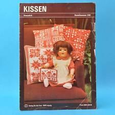 Kissen | Kreuzstich | Verlag für die Frau # 2102 | DDR 1982 A