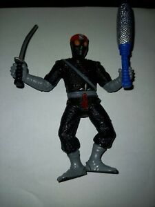 Teenage mutant ninja turtles Vintage Figure - Footsoldier With Weapons.