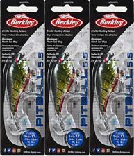 (Lot Of 3) Berkley Pitbull 5.5 Crankbait Bhbpb5.5-Ghgcr 3/8Oz Ght Grn Craw I4103