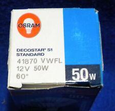 Osram 50W 12v 41870 Vwfl Halogen Bulb 60