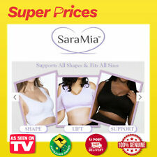 SaraMia Bra◉AS SEEN ON TV◉Ultimate Comfort◉Removable Cups◉Wire-Free◉Criss-Cross◉