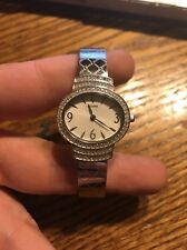 Bulova Women's Silver Watch - Diamond Face